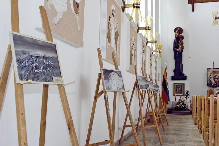 Menininko Morten Paulsen meno darbų foto reprodukcijų kilnojamoji paroda.