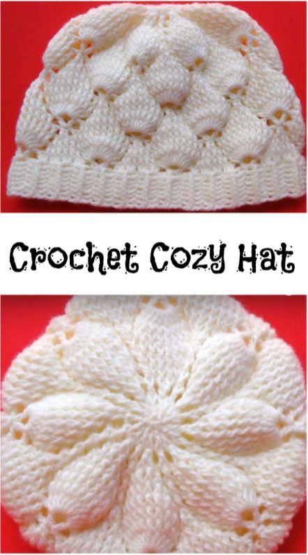 Mejores 246 imágenes de Crochet hat patterns en Pinterest | Gorros ...
