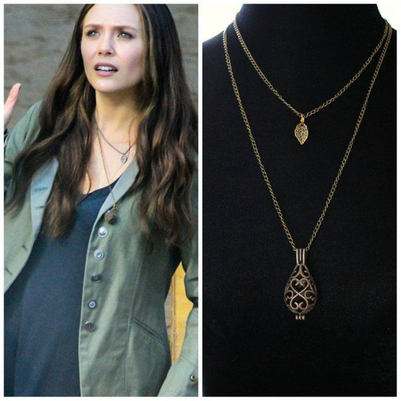 Scarlet Witch Necklace Wanda Maximoff