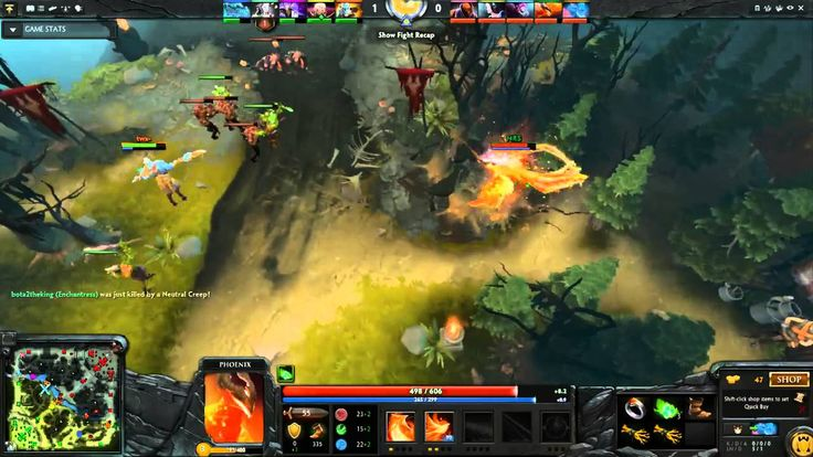 Dota2 Live Stream - Radiant Vs Dire (21.09.2015)