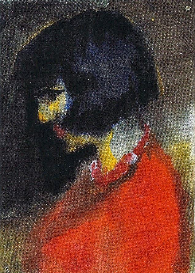 Portrait of Margarete T., Emil Nolde, 1930