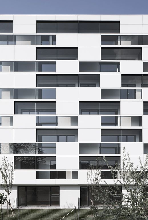 ASPECTO CUBOS - Residential complex in Vienna. Delugan Meissl architects. EQUITONE facade panels. www.equitone.com