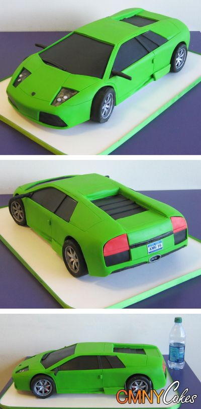 Lamborghini Murcielago Cake