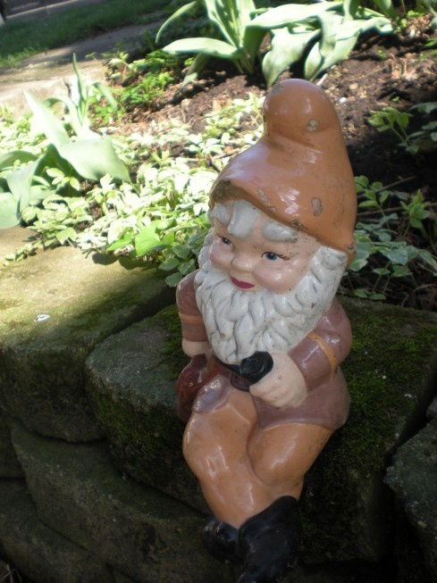 16 best Gnome images on Pinterest   Elves, Garden gnomes and Gnome Knomes Construction Backyard Ideas on