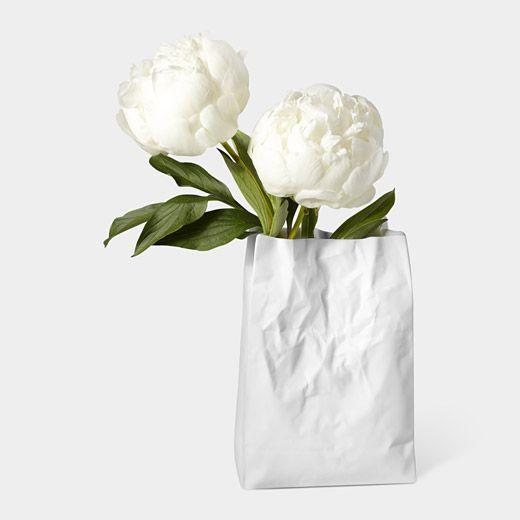 // Crinkle Bag Vase from MoMA