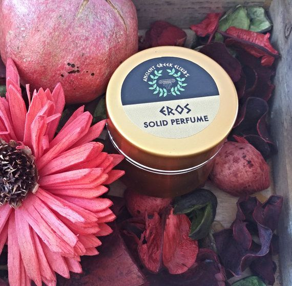 SOLID PERFUME DELUXE organic perfume in by AncientGreekElixirs