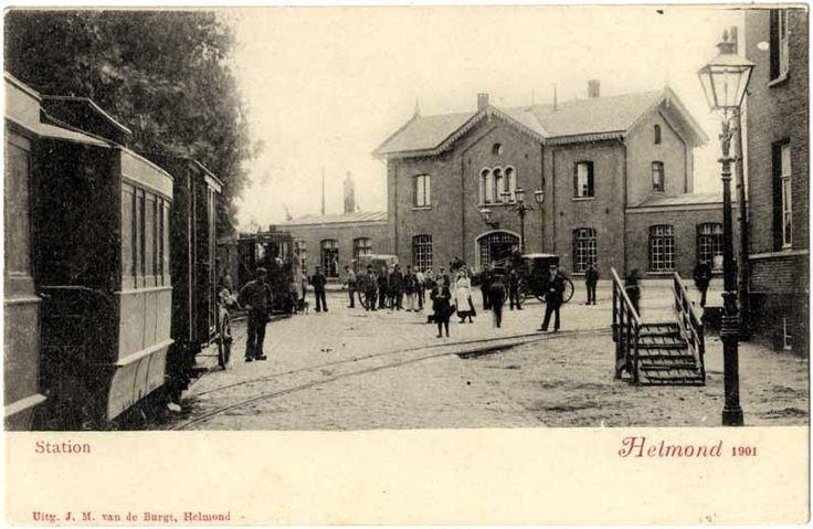 Wist u dat op 25 juli 1864 ( vandaag precies 153 jaar geleden) de eerste bout werd geslagen op de gemeentegrens tussen Helmond en Mierlo, op Helmonds grondgebied? Een groots stadsfeest werd gevierd en er werd maar liefst 25 gulden uitgetrokken om de spoorwegarbeiders te trakteren! Klik op de afbeelding voor het hele verhaal!