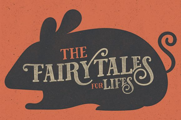 Fairy Tales + Bonus by artimasa on Creative Market