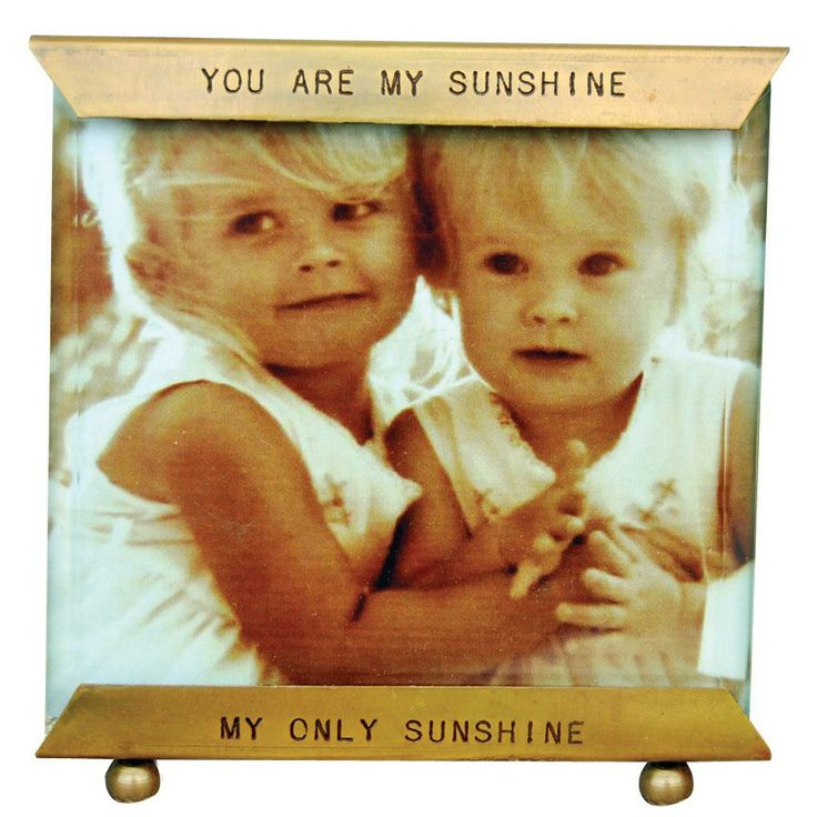 Sugarboo Designs Glass Frame You Are My Sunshine. #laylagrayce #holidaygiftshop $36.00