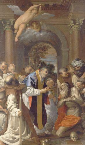 Alla Pinacoteca Nazionale di Bologna potete ammirare l'Ultima comunione di san Girolamo, opera di Agostino Carracci