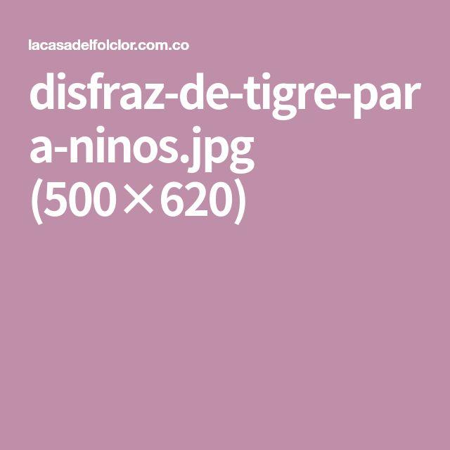 disfraz-de-tigre-para-ninos.jpg (500×620)