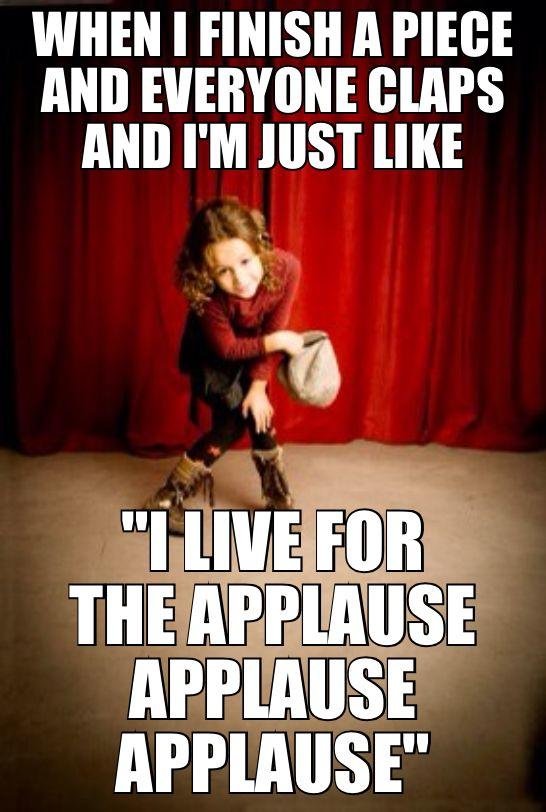 Theatre Humor  I made this~@Jasmine Edgel