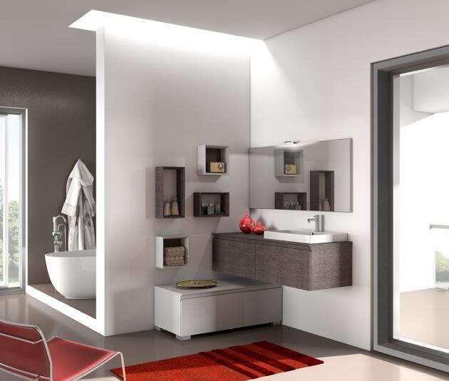 come sfruttare gli spazi angolari... #bagno #arredobagno #design #madeinitaly