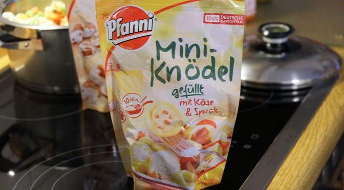 [Werbung] Pfanni Mini-Knödel gefüllt mit Käse & Speck