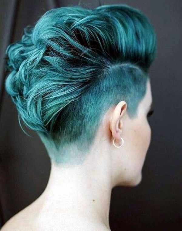 45 Superchic Shaved Hairstyles for Women in 2016                              …