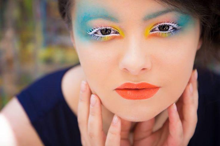 Szkoła Wizażu i Charakteryzacji SWiCh // Make-up: Monika Wawrzyniak /  Modelka: Gabriela Jezior /  Fot.: Anita Kot /  #makeup #szkoławizażu #akademia_SWiCh #SWiCh #visage #portrait