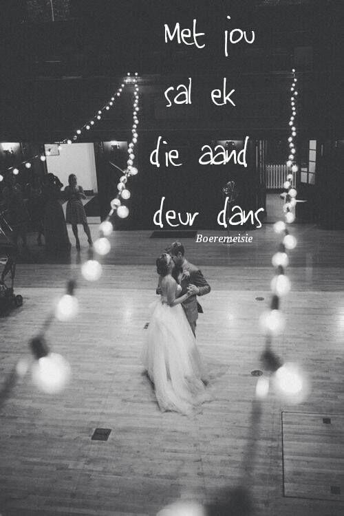 die aand deur dans saam jou