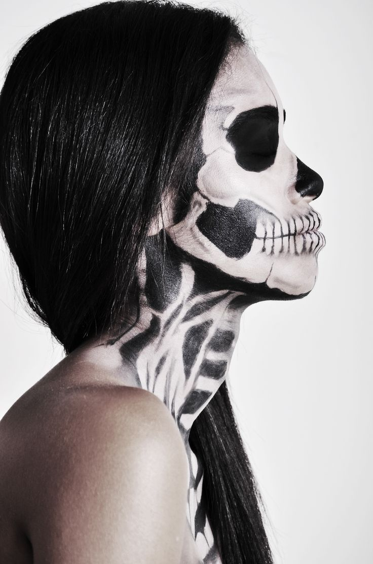 17+ best images about Half skull on Pinterest | Half ...