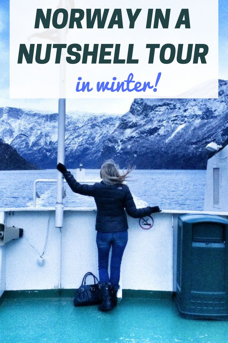 Why You Should Do the Norway in a Nutshell Tour in Winter. Click the pin to read the post from www.flirtingwiththeglobe.com