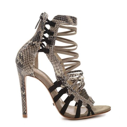 Schutz Woman Lace-up Python Pumps Animal Print Size 7 Schutz Discount The Cheapest Online Cheap Online GbcUnDzLhs