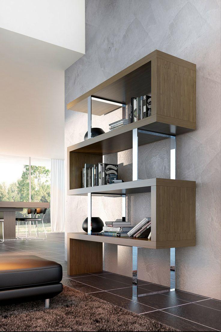 Modern Walnut Living Room Furniture: Best 25+ Minimalist Bookshelves Ideas On Pinterest