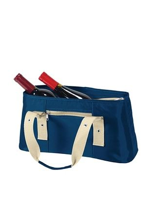 35% OFF Picnic Time Alexis Insulated Lunch/Wine Tote (Navy)