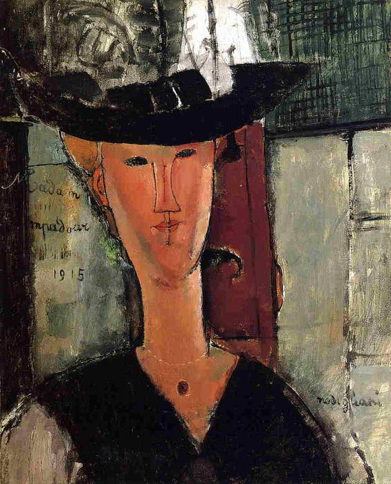 Madame Pompadour by Amedeo Modigliani (Italy)