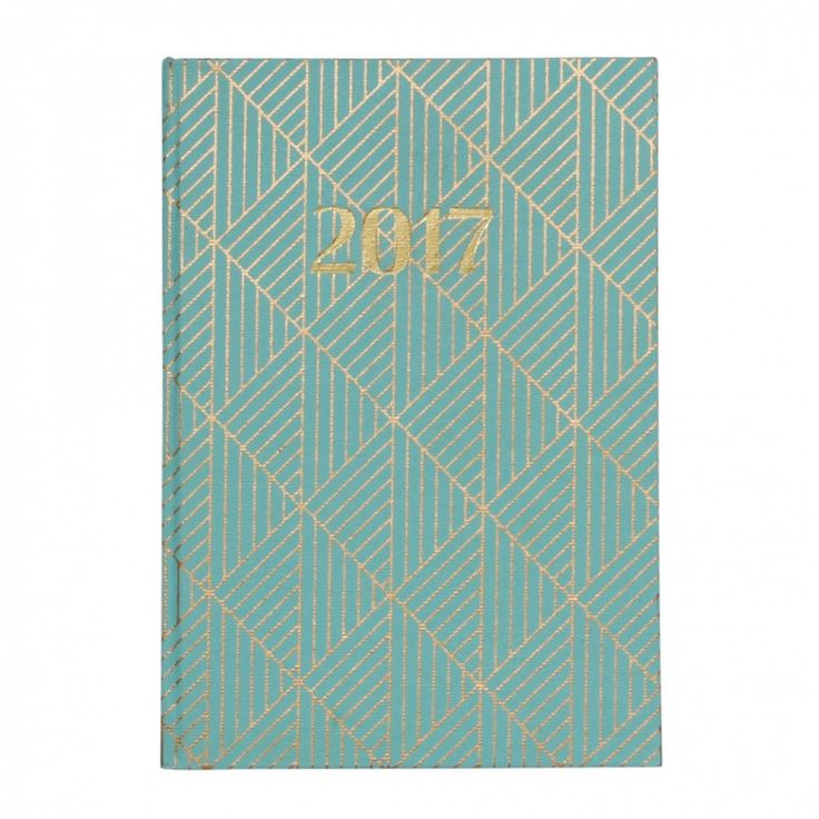 Handmade geo A5 casebound 2017 diary - Diaries  - Diaries & Organisers - Stationery