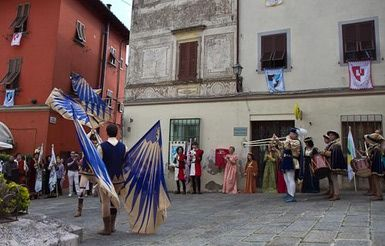 Going to Italy in August? Don't Miss These Festivals: Medieval Festival in Montecatini Alto