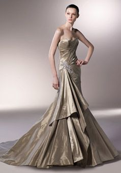 1000  ideas about Gold Wedding Gowns on Pinterest - Gold wedding ...