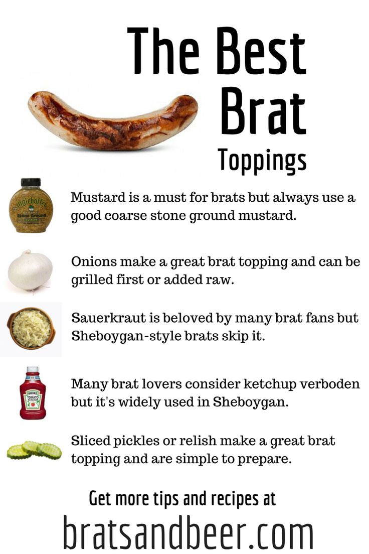 Best Bratwurst Toppings Discover The Best Toppings To Finish Off Your Bratwurst And Cast Your