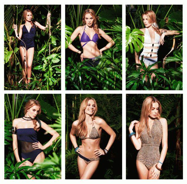MAXIM || Jana Beller modelt für Beachwear