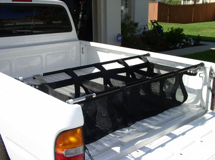 organized+pick+up+truck+for+family | CargoCatch Pickup Truck Bed Organizer