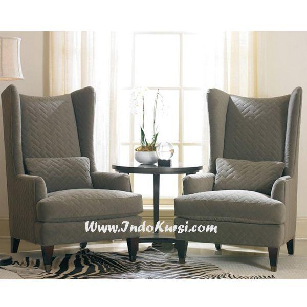 JualKursi Sofa Tamu Sandaran Tinggi Cat Hitam Desain Kursi Sofa Ruang Tamu yang terdapat di toko Indo Kursi, yang elagant Untuk Kursi Ruang Tamu jok sofa