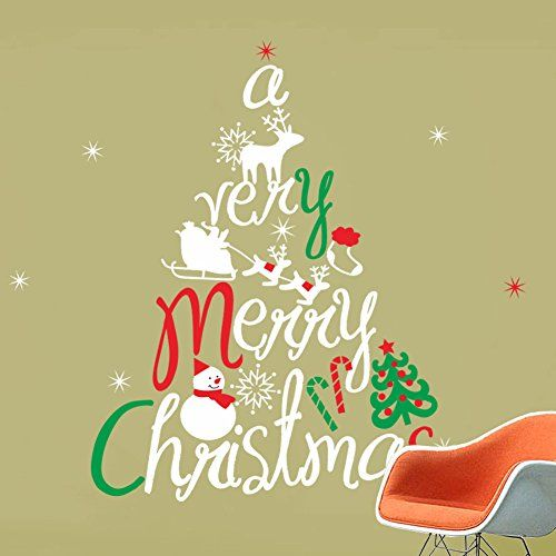 Best Wall Stickers Murals Images On Pinterest Wall - Christmas wall decals removable