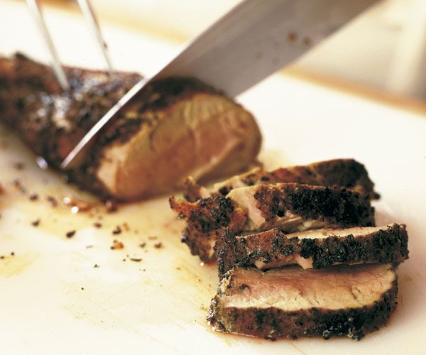 Caribbean-Style Grilled Pork Tenderloin Recipe - As the heat of the grill coaxes the pork to tenderness, warm Caribbean spices mingle w/ the juices, leaving you w/ a deeply flavored, juicy & tender treat.  For more surface & crust, butterfly the tenderloin. Mix a double batch of rub so you're sure to have enough. If you don't have a mortar & are using ground spices, crush everything with a rolling pin. http://www.finecooking.com/recipes/caribbean-style-grilled-pork-tenderloin.aspx