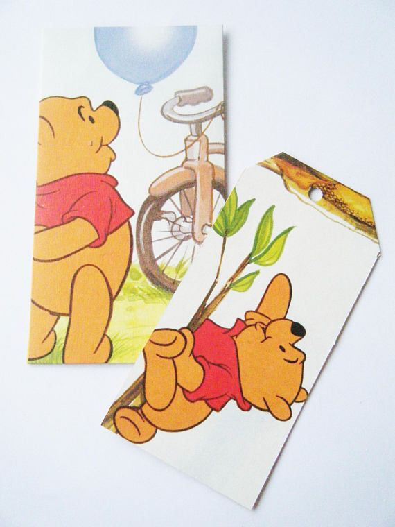 A set of envelopes and gift tags. A lovely way to repurpose a Little Golden Boos.
