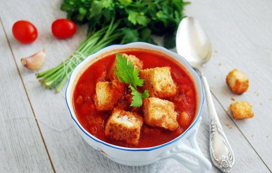 Рецепты супа с томатной пастой, секреты выбора ингредиентов и