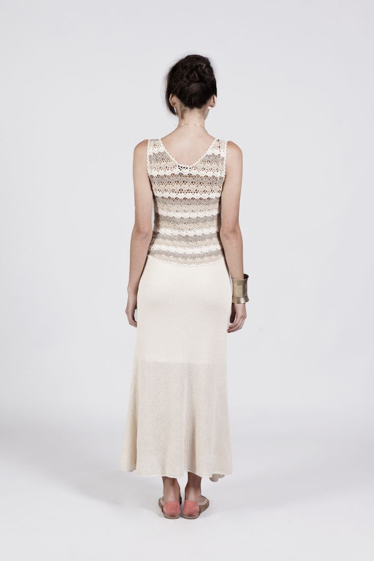 Long dress. Crochet ...