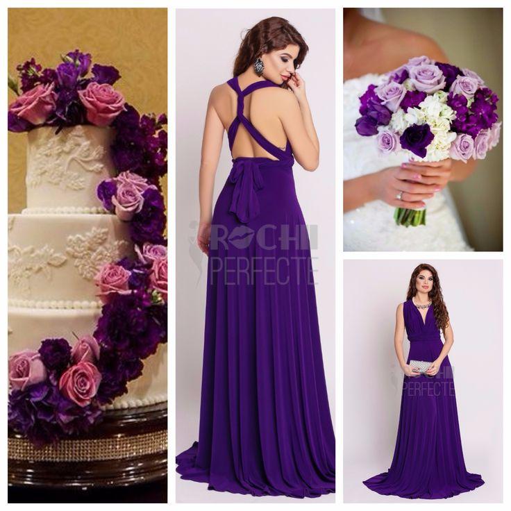 Perfect bridesmaides dress, the purple infinity dress