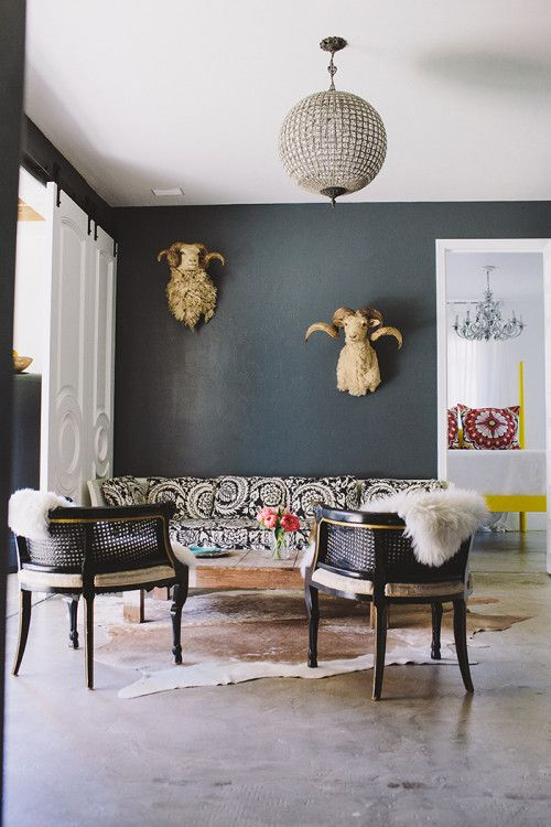 Grey Livign Room Decor