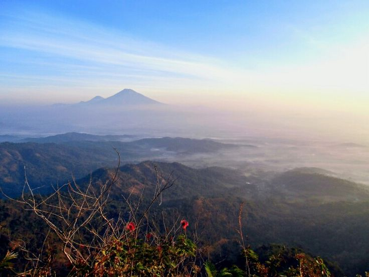 look from the top of the mountain cleft Suroloyo