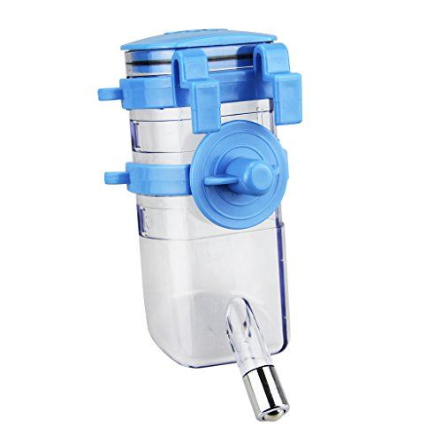 No Drip Pet Water Bottle Top-fill Rabbit Small Dog Cat Ferret Bunny Water Feeder Dispenser - http://www.balanced4u.net/crittercare/no-drip-pet-water-bottle-top-fill-rabbit-small-dog-cat-ferret-bunny-water-feeder-dispenser/