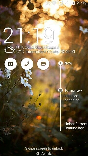My Homescreen Asus Zenfone 5