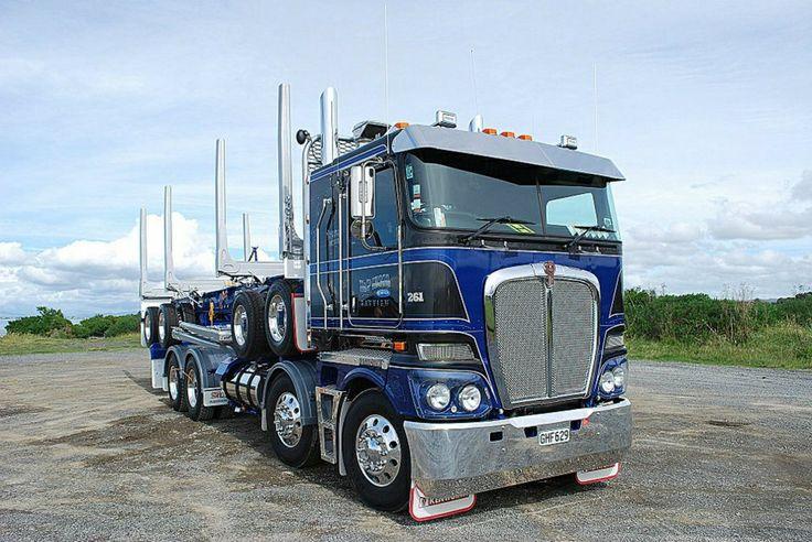 KW K200 log truck Twin Steer Pinterest Trucks and Logs