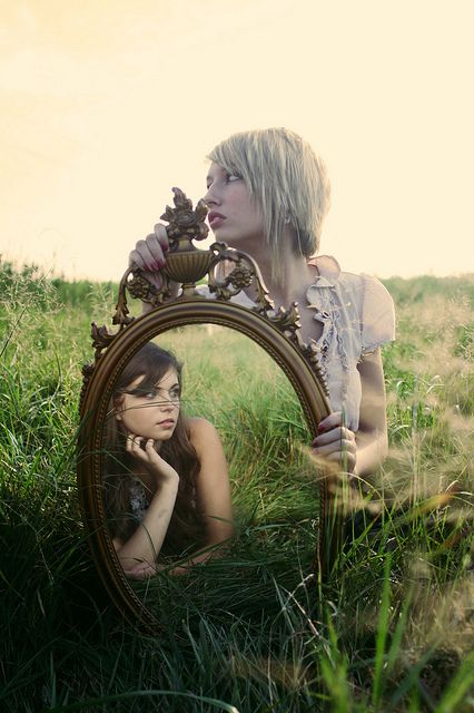 I saw the old me. Then I realized how much I had changed. I grew up, and became strong...