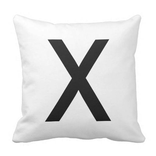 Tic-Tac-Toe Noughts and Crosses Funny Game Pillow  #tictactoe #outdoorfun #throwpillow #blackandwhite