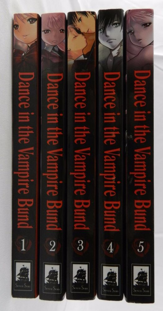 Dance In The Vampire Bund 1 -5  Book Lot Set Nozomu Tamaki Manga English Version