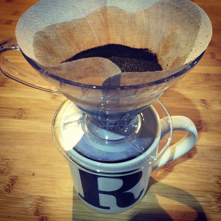 Drip drip drip. Perfection takes a little work but the reward is so good. #coffeeaddict #coffeelover #coffeeclub #dawnroasters