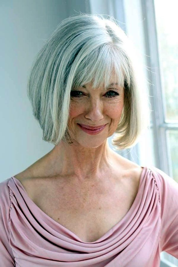 Simple and Beautiful Hairstyles For Older Women (10)